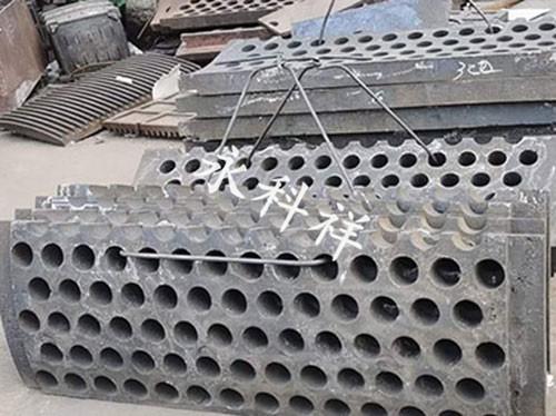 球磨机卸料筛板投入使用的要求