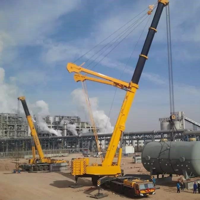 起重机应用煤矿行业工程案例