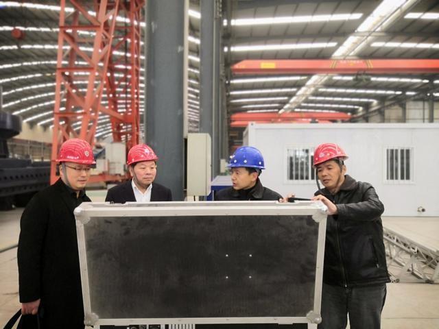河南省中美能源股份有限公司访问太空灰3D打印智能工厂