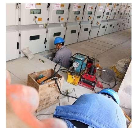 电力技术施工中公共区域要求