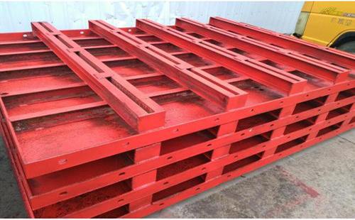 钢模板的安装与拆除