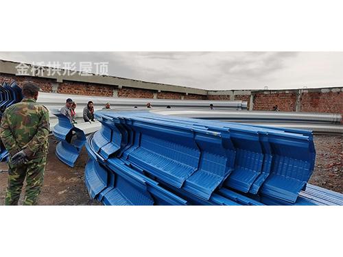 拱形屋面构造仓间加油站罩棚的应用主要用途