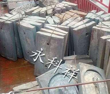 高锰钢球磨机衬板的主要应用