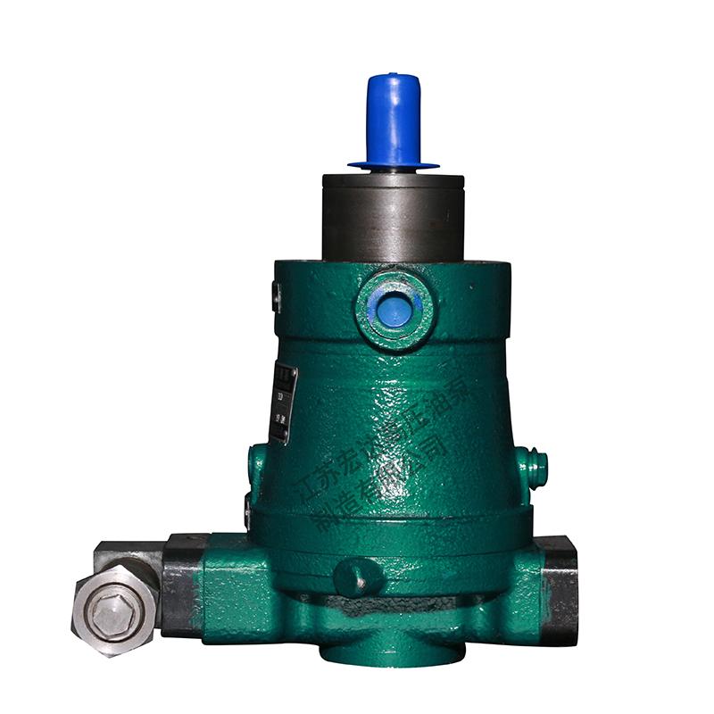 轴向柱塞泵的特点如何?