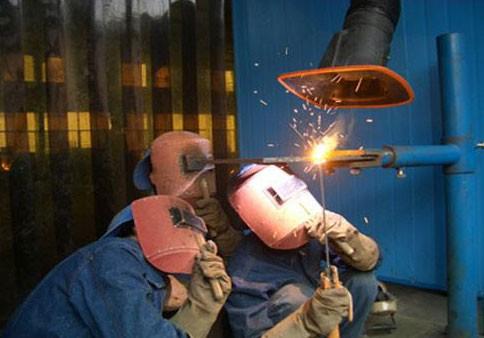 氩电联焊高压管道焊工专修班