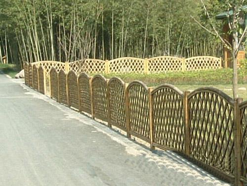 竹篱笆怎么建