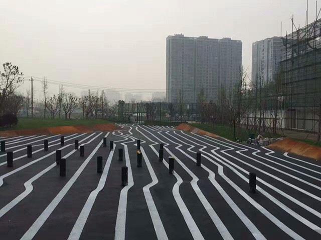 城市绿道透水地坪