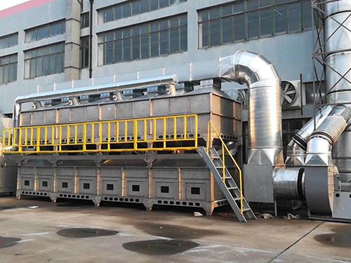 废气处理中的voc催化燃烧设备的介绍