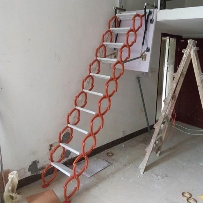 壁挂伸缩阁楼楼梯