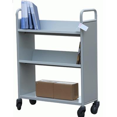 V型平板组合书车