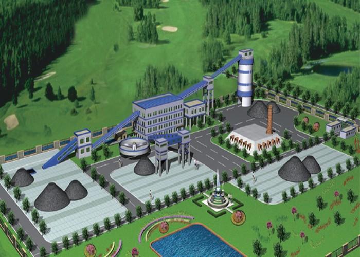 洗煤厂效果图
