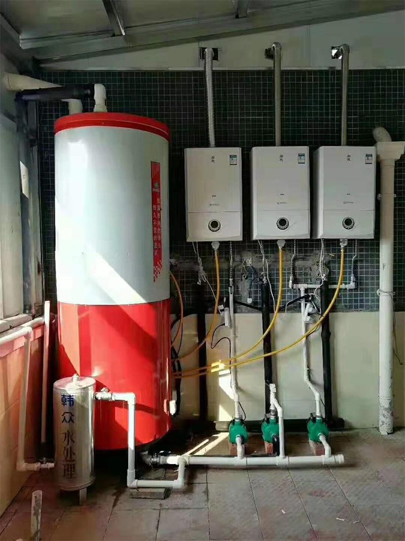 燃气商用燃烧机加保温水箱