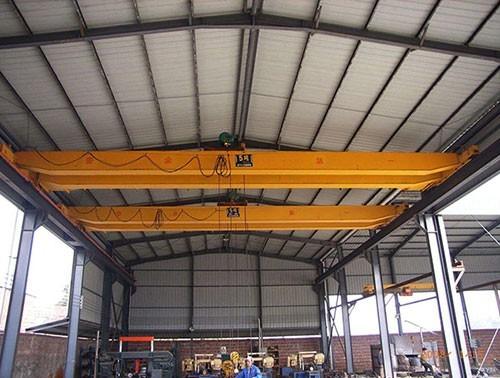 Double beam bridge crane