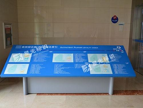 蕪湖市第二人民醫院標識牌安裝