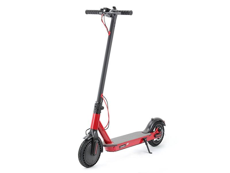 体积虽小但大有可为 智能折叠电动滑板车