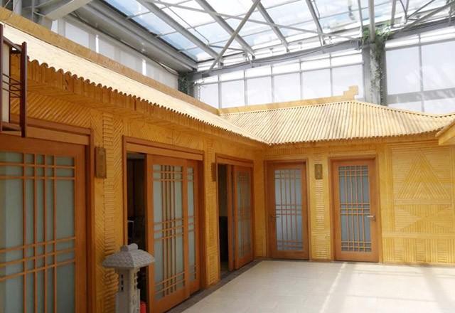 长沙梅溪湖户外竹材工程项目