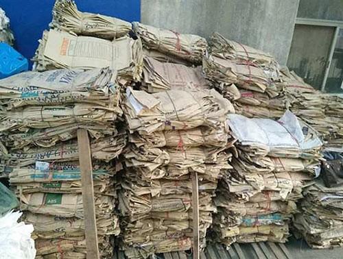 废纸袋回收