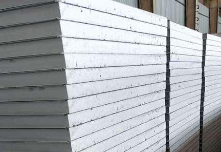 岩棉彩钢夹芯板在建筑行业中占的地位