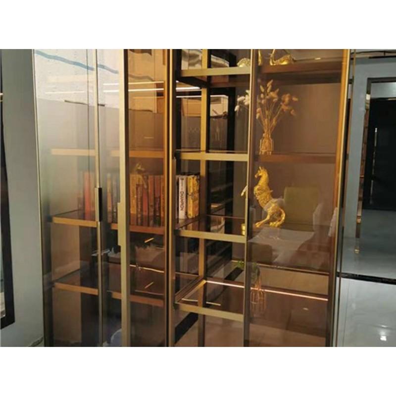 鹤岗专业订制玻璃柜安装