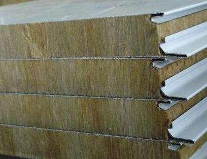 岩棉夹芯板的特性及使用方法