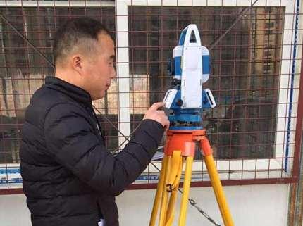 建筑行业中全站仪的应用