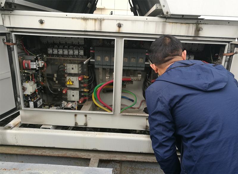 商用中央空调设备检测