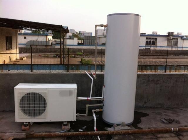 脑洞大开!太阳能热水器和空气能热水器,串联起来用,节能环保!