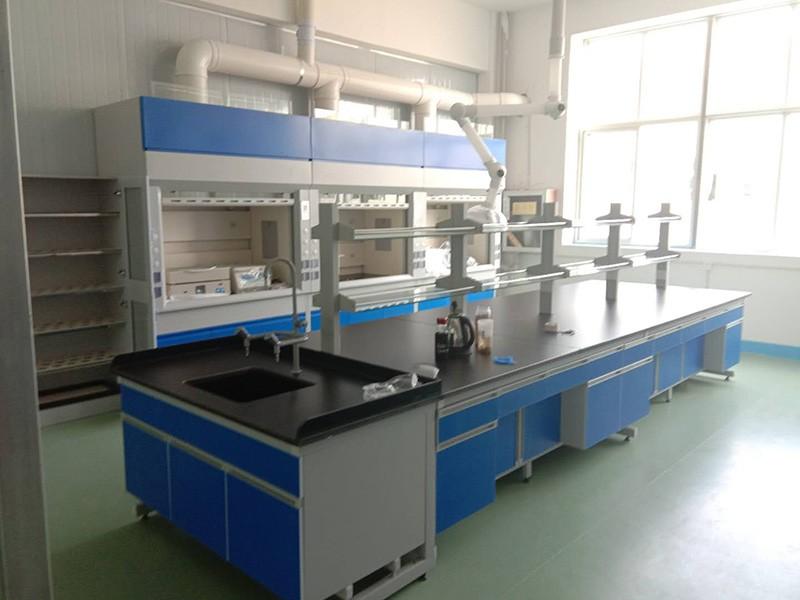 实验室家具-黑蓝