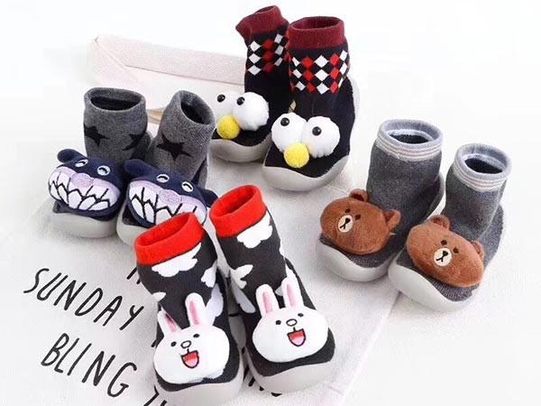 儿童袜鞋加工