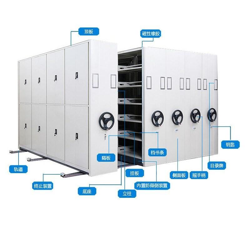 智能型档案密集柜应用及构成