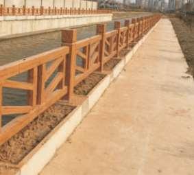 注意这三方面让仿木栏杆做出满意的效果