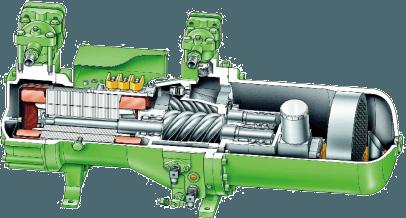 海信商用风冷螺杆式冷水(热泵)机组