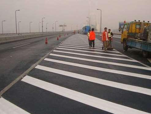 一些道路标线施划准则说明