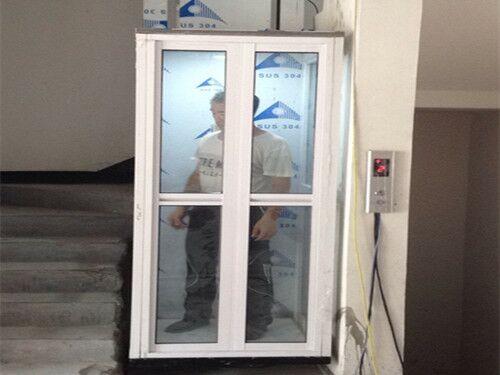西安家用电梯安装现场