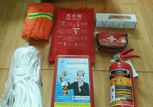 Fire emergency package