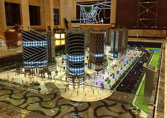 長壽城市規劃沙盤模型電話