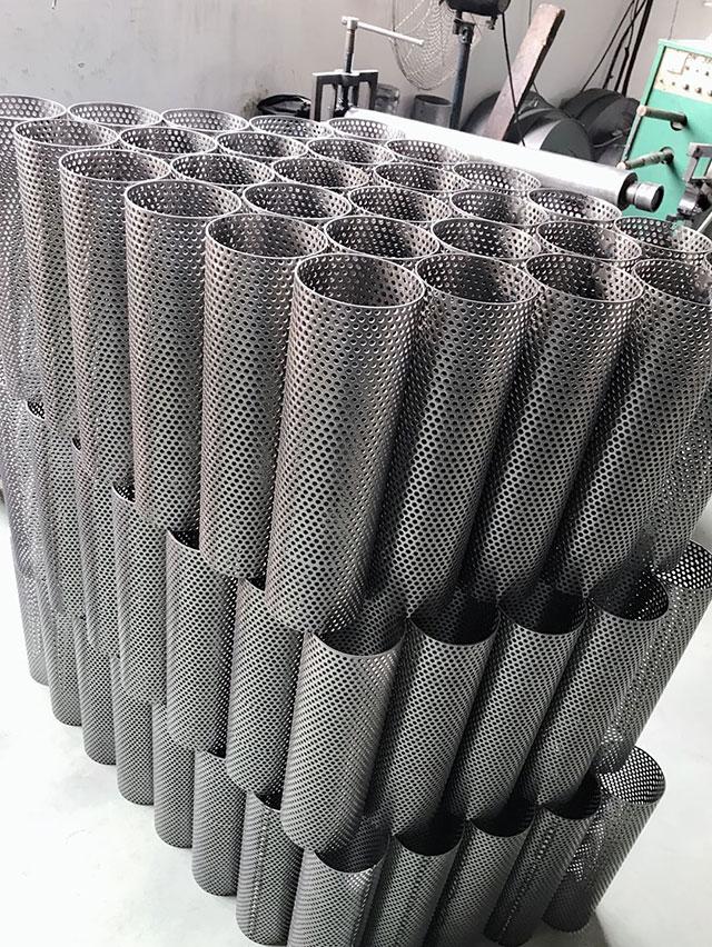 直缝冲孔焊管厂家直销
