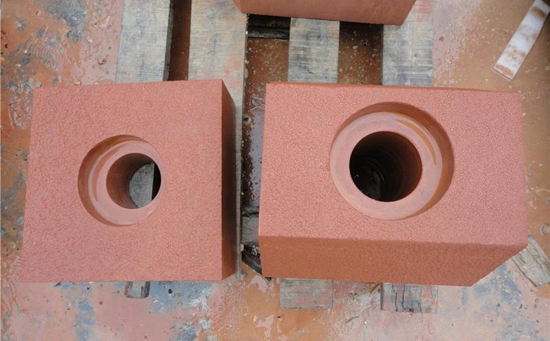 红砂岩的描述和铺设方法
