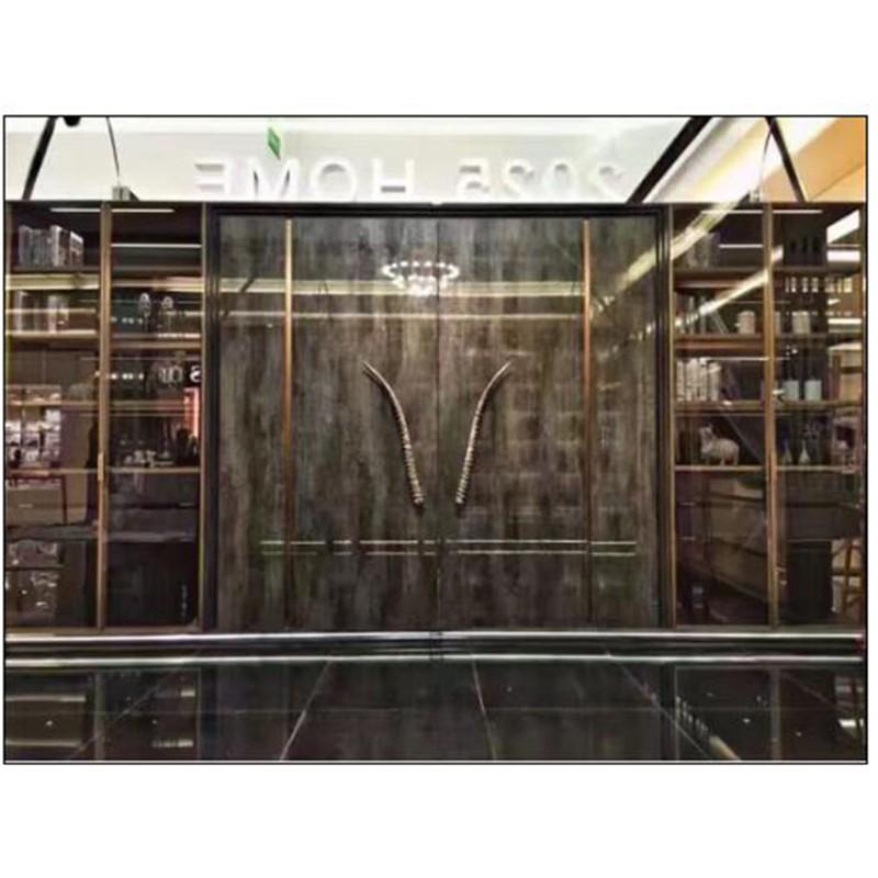 大兴安岭专业生产威法款玻璃柜报价