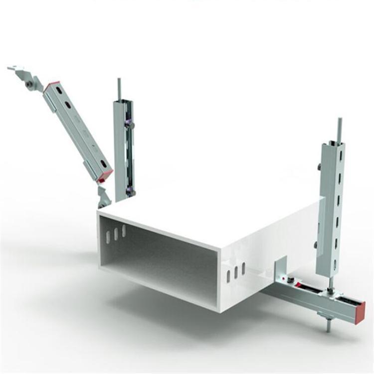简述综合抗震支吊架及抗震支吊架的材料要求