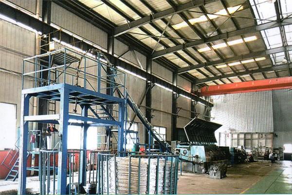铝合金杆生产线