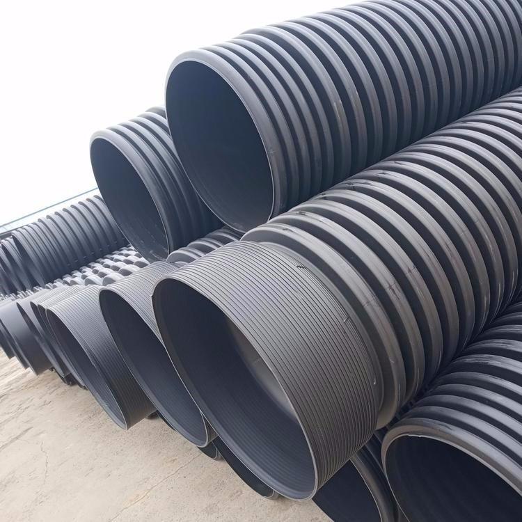 HDPE缠绕结构壁b型管怎么连接的