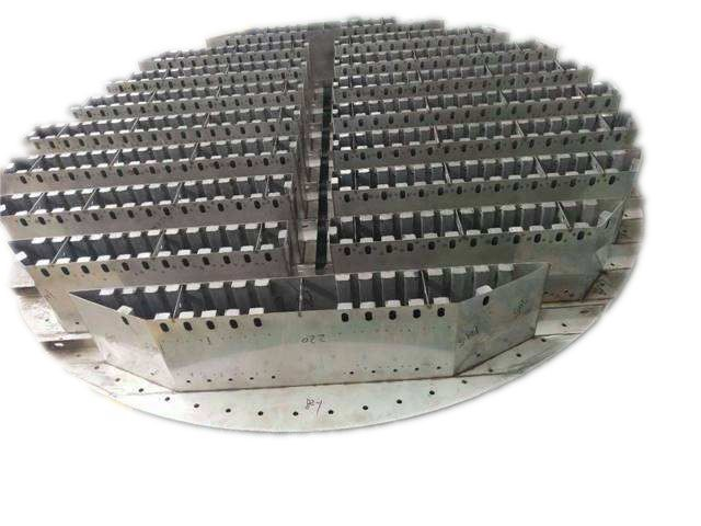 塔内件槽式分布器,收集器(材质:金属,塑料,陶瓷)