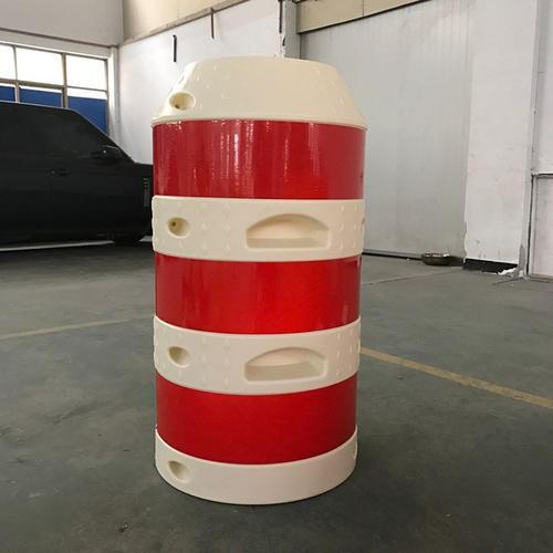防撞桶的正确安装方式!