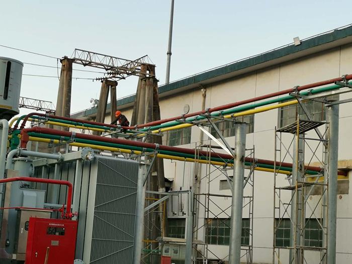 管型母线生产