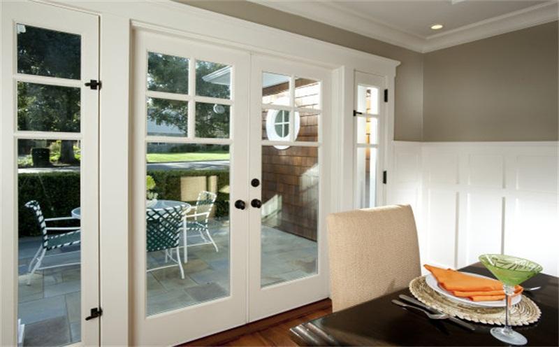 塑钢窗比照仿古式现代中式断桥铝门窗