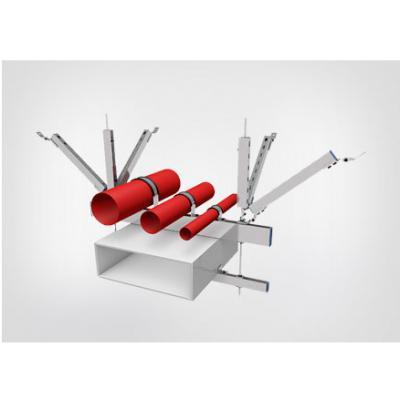 抗震支架系统中3大部件的安装流程是什么?