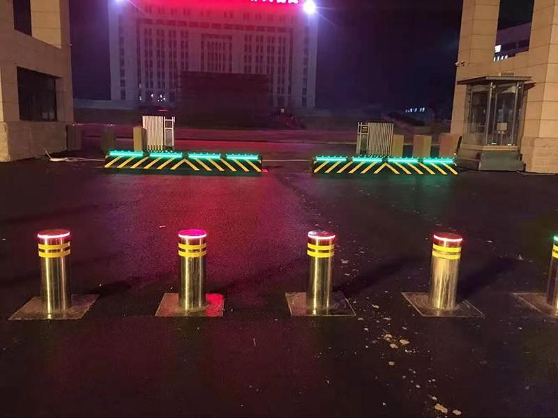 內蒙古升降柱【廠家直銷】升降路樁-液壓路樁價格【鴻宇科技】