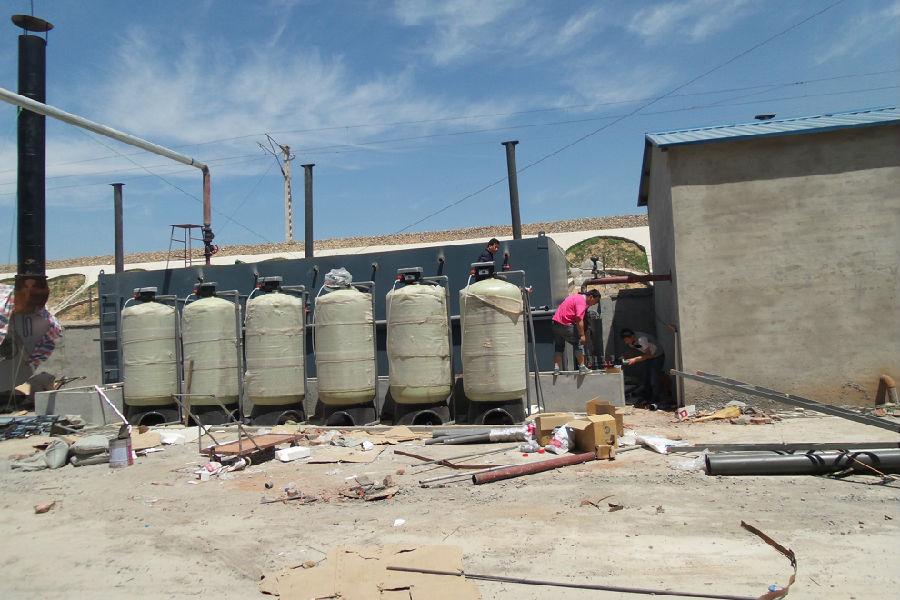 鸡泽奥宇纺织软化水设备安装案例