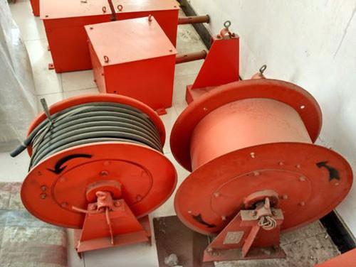 Crane wire drum